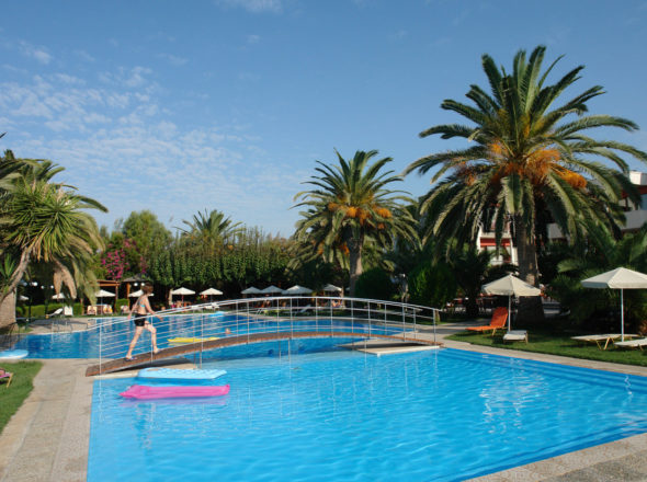 Main Pool - May Beach Hotel - Rethymno Crete