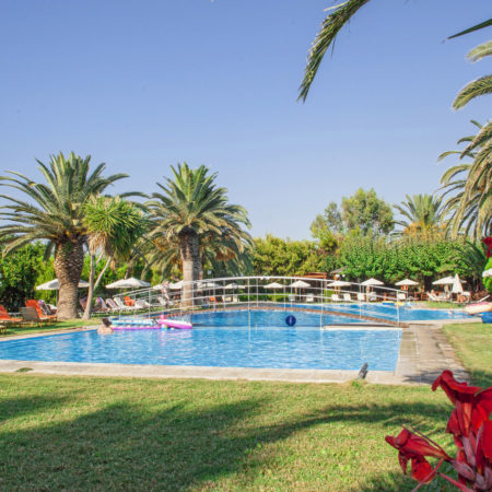 Pool, Gardens, Loungers, Umbrellas & Chairs 2 - May Beach Hotel - Rethymno Crete